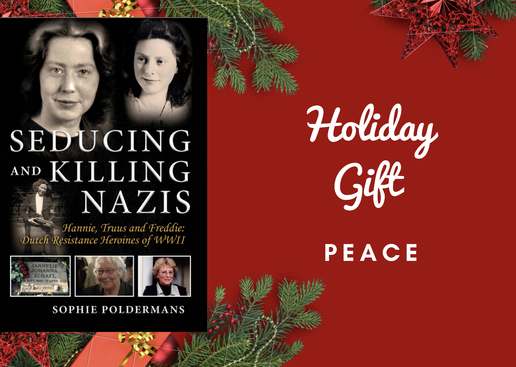 "Holiday Gift ""Seducing and Killing Nazis"""